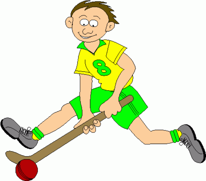 Junior Field Hockey Clipart