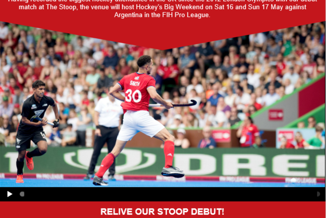 GB Hockey at the Stoop in 2020!