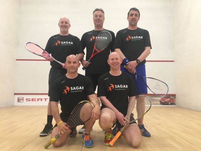 Squash Team in Sagar Clothing