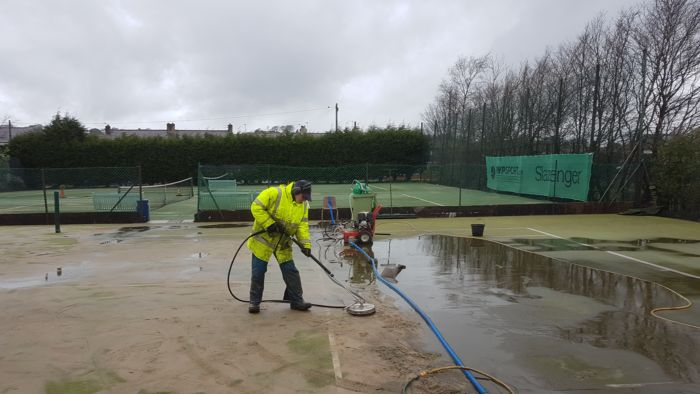 Arthur Cleaning Courts
