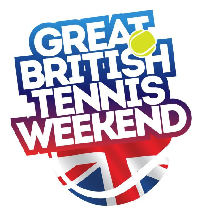 Great Brit Tennis Weekend Logo