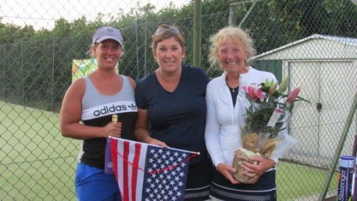 Ladies American Tournament 2018 2 winners